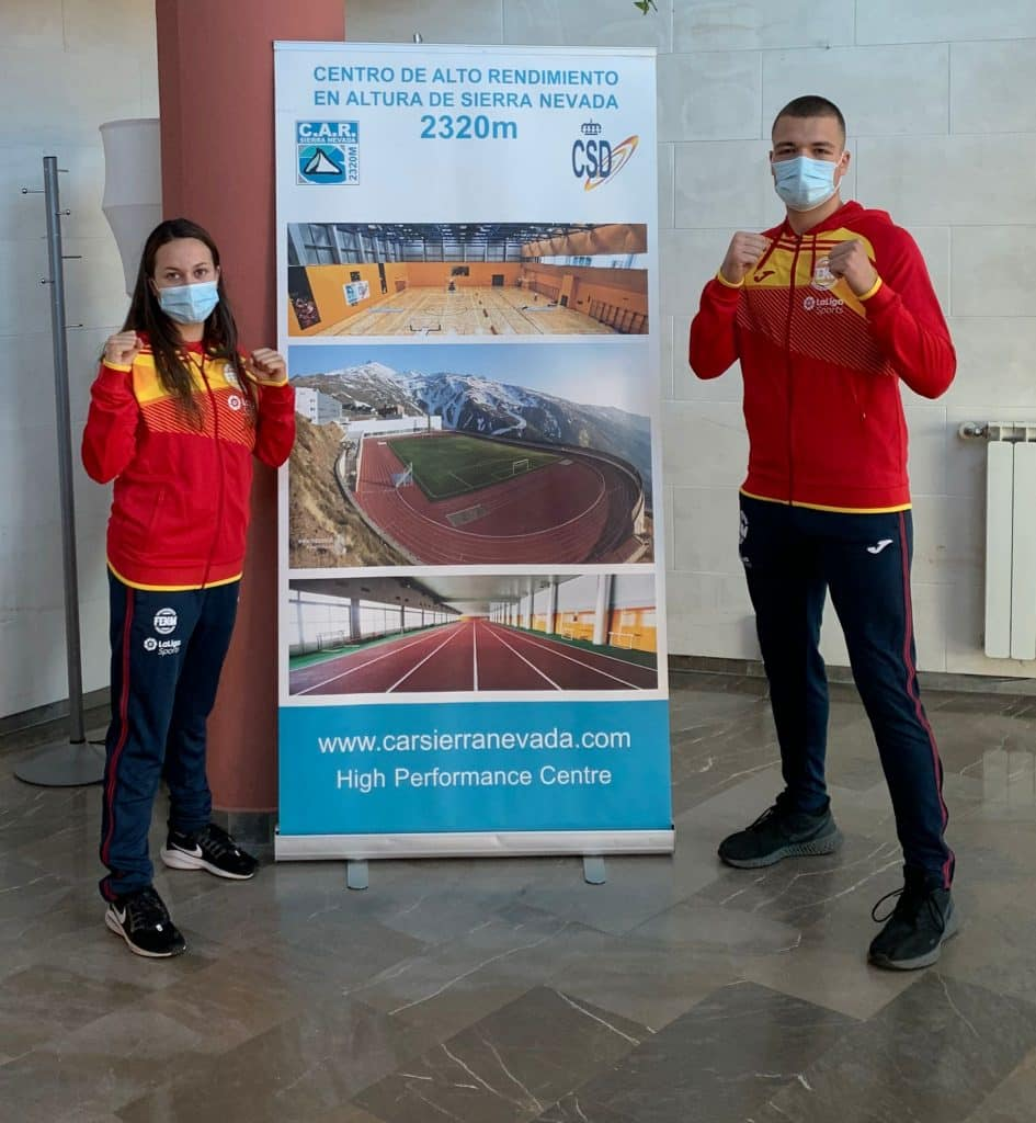 Selección cántabra Juan de Quintana y Luna Vigo campeonato mundial wako